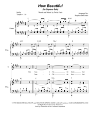How Beautiful (for Soprano Solo) Sheet Music by Twila Paris