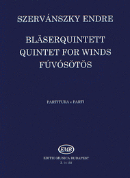 Quintet for Winds Sheet Music by Endre Szervanszky