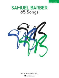 65 Songs Sheet Music by Samuel Barber