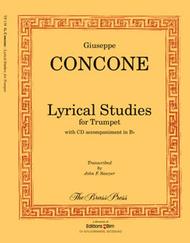 Lyrical Studies Sheet Music by Giuseppe Concone