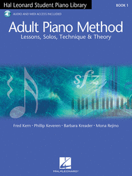 Adult Piano Method - Book 1 Sheet Music by Mona Rejino