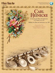 Reinecke - Concerto for Flute & Orchestra & Ballade for Flute & Orchestra Sheet Music by Carl Reinecke