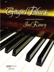 Gospel Blues for 4-Hand Piano Sheet Music by Joel Raney