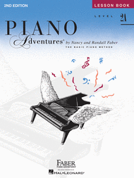 Piano Adventures Level 2A - Lesson Book Sheet Music by Nancy Faber