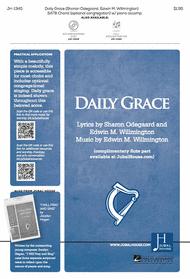 Daily Grace Sheet Music by Edwin M. Willmington