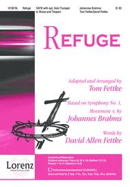 Refuge Sheet Music by Johannes Brahms