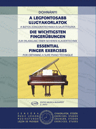 Essential Finger Exercises Sheet Music by Ernst Von Dohnanyi