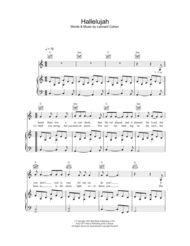 Hallelujah Sheet Music by Rufus Wainwright