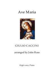 Ave Maria (High Voice