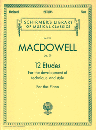 12 Etudes for the Development of Technique and Style
