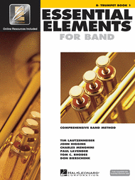 Essential Elements for Band - Bb Trumpet Book 1 with EEi Sheet Music by John Higgins