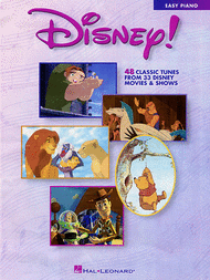 Disney! - Easy Piano Sheet Music by Various