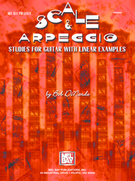 Scale & Arpeggio Studies for Guitar with Linear Examples Sheet Music by Robert Dinardo
