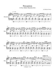 Perception Sheet Music by Hayden Graves