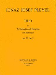 Trio No.2 in Eb major Op. 20 B (3741) Sheet Music by Ignaz Josef Pleyel