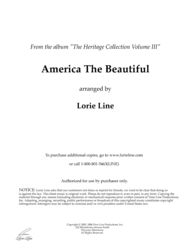 America The Beautiful Sheet Music by Lorie Line