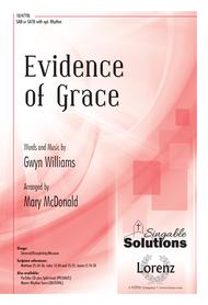 Evidence of Grace Sheet Music by Gwyn Williams