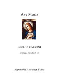 Ave Maria (Soprano & Alto duet