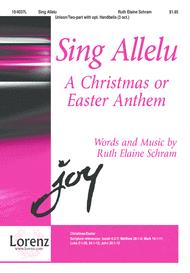 Sing Allelu Sheet Music by Ruth Elaine Schram
