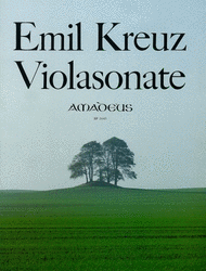 Sonata A minor op. 13/6 Sheet Music by Emil Kreuz