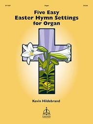 Five Easy Easter Hymn Settings for Organ Sheet Music by Hildebrand