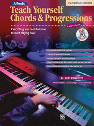 Alfred's Teach Yourself Chords & Progressions at the Keyboard - Book/CD Sheet Music by Bert Konowitz