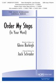Order My Steps Sheet Music by Glenn Burleigh