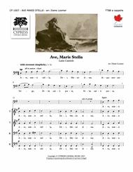 Ave Maris Stella Sheet Music by Diane Loomer