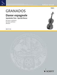 Danse espagnole Sheet Music by Enric Granados i Campina