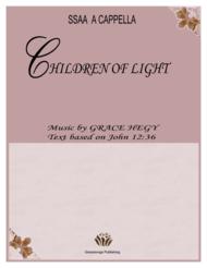 Children of Light Sheet Music by Grace Hegy