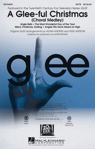 A Glee-ful Christmas Sheet Music by Glee Cast