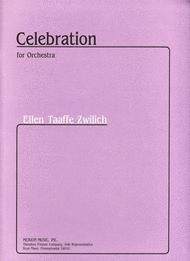 Celebration Sheet Music by Ellen Taaffe Zwilich