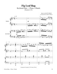 Fig Leaf Rag (1 Piano