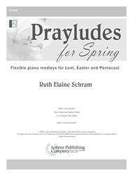 Prayludes for Spring Sheet Music by Ruth Elaine Schram