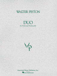 Duo for Viola and Violoncello Sheet Music by Walter Piston