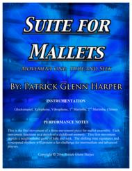 Suite for Mallets - Movement 1 Sheet Music by Patrick Glenn Harper