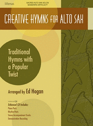 Creative Hymns for Alto Sax Sheet Music by Ed Hogan