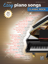 Alfred's Easy Piano Songs -- Classic Rock Sheet Music by composers