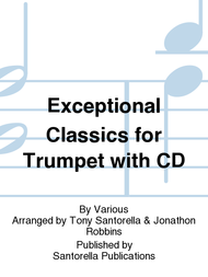 Exceptional Classics for Trumpet with CD Sheet Music by Various