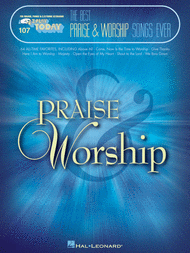 The Best Praise & Worship Songs Ever Sheet Music by Various