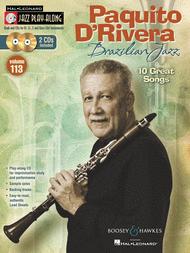 Paquito D'Rivera - Brazilian Jazz Sheet Music by Paquito D'Rivera