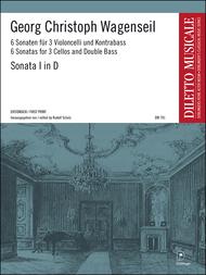 Sonate 1 D-Dur Sheet Music by Georg Christoph Wagenseil