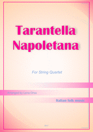 Tarantella Napoletana String Quartet Sheet Music by Italian Folk Music
