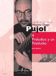 Preludios y un Postludio (4) Sheet Music by Maximo Diego Pujol