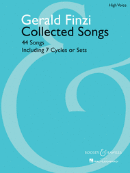 Collected Songs Sheet Music by Gerald Finzi
