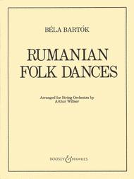 Rumanian Folk Dances Sheet Music by Bela Bartok