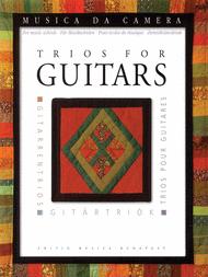 Trios for Guitars Sheet Music by Miklos Mosoczi
