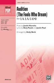 Audition (The Fools Who Dream) Sheet Music by Benj Pasek