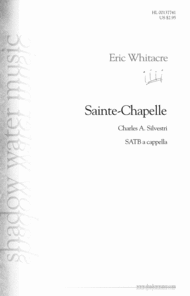 Sainte-Chapelle Sheet Music by Eric Whitacre