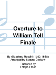 Overture to William Tell Finale Sheet Music by Gioachino Rossini